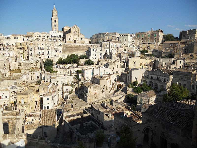 Visiting I Sassi Matera, Italy